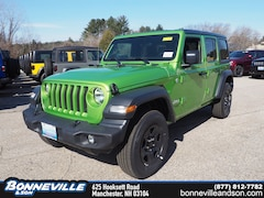 New 2019 Jeep Wrangler UNLIMITED SPORT 4X4 Sport Utility in Manchester, NH