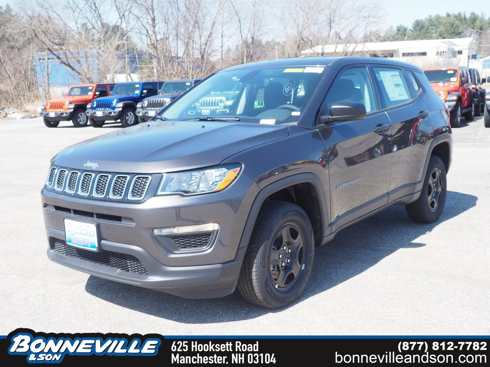 New 2019 Jeep Compass SPORT 4X4 Sport Utility in Manchester, NH