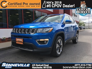Certified Pre-Owned 2019 Jeep Compass Limited SUV in Manchester, NH