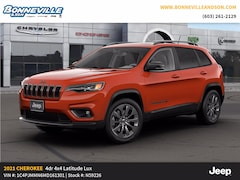 New 2021 Jeep Cherokee 80TH ANNIVERSARY 4X4 Sport Utility for sale in Manchester, NH
