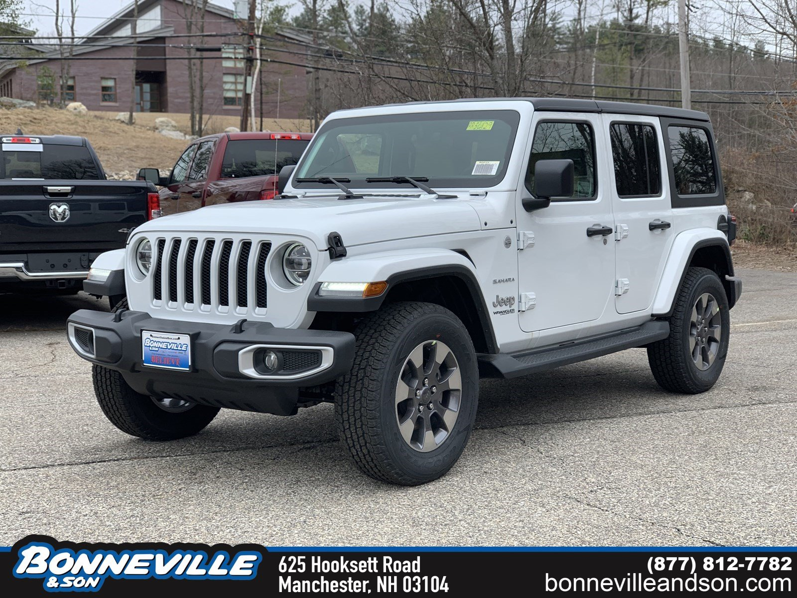New 2019 Jeep Wrangler UNLIMITED SAHARA 4X4 Sport Utility in Manchester, NH