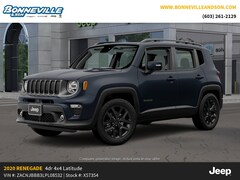 New 2020 Jeep Renegade ALTITUDE 4X4 Sport Utility for sale in Manchester, NH