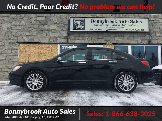 2012 Chrysler 200 Limited LEATHER P/SUNROOF REMOTE STARTER Sedan