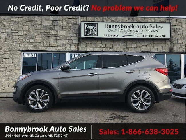2013 Hyundai Santa Fe SE AWD LEATHER SUNROOF BACKUP CAMERA SUV