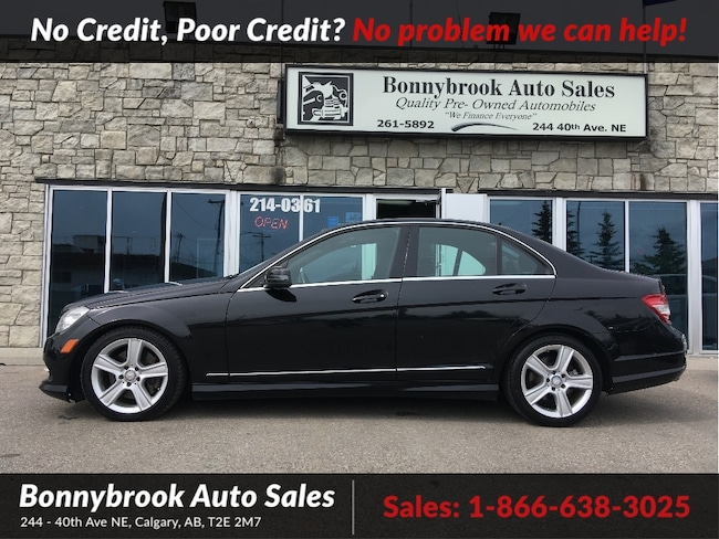 2011 Mercedes-Benz C-Class 300 Awd navigation leather bluetooth p/sunroof Sedan