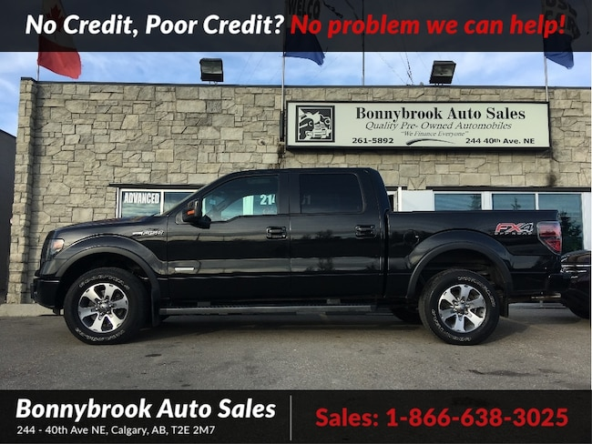 2013 Ford F-150 FX4Leather Navigation P/sunroof Crew Cab