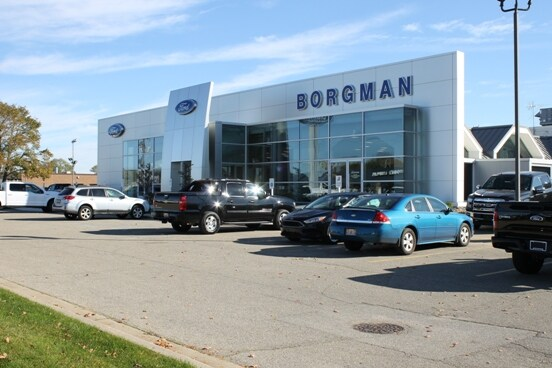 borgman ford new ford dealership in the greater grand rapids west michigan 49418. Black Bedroom Furniture Sets. Home Design Ideas