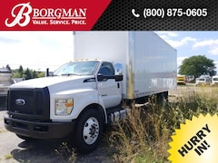2019 Ford F-650 Diesel Box Truck Truck Regular Cab