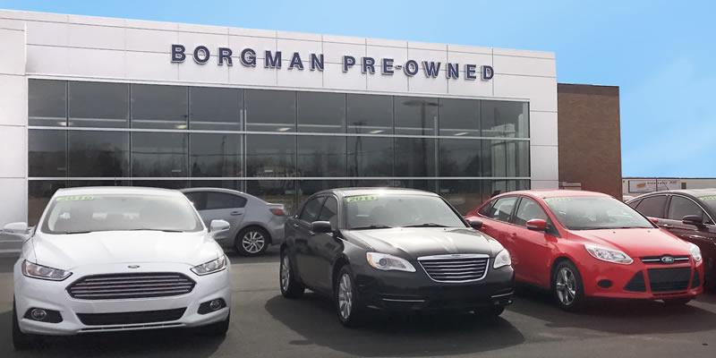 Borgmanu0027s ... & Borgman Expands Used Car Center: Now Open in Grand Rapids MI ... markmcfarlin.com