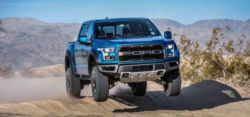 The new, upgraded 2019 Ford F-150 Raptor Off-Road Pickup arrives at Borgman Ford in Grand Rapids late 2018