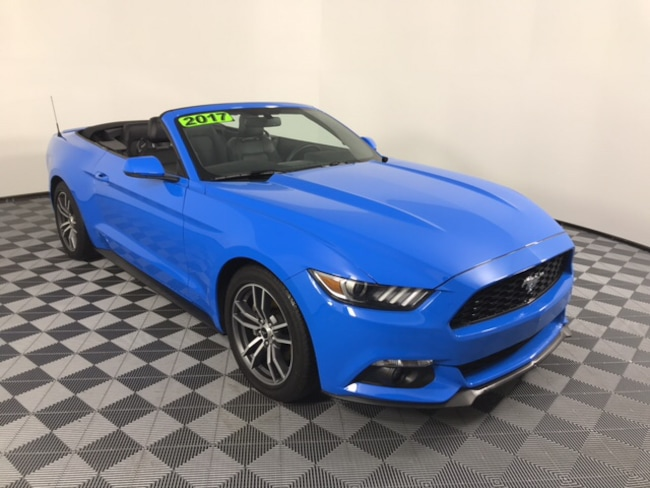 2017 Ford Mustang EcoBoost Premium Convertible Convertible