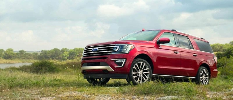Photo of a 2018 Ford Expedition on an adventure in West Michigan