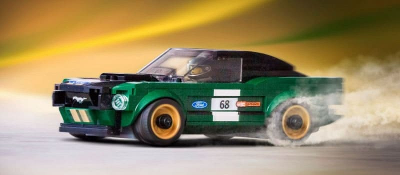 Build Your Own Ford >> Build Your Own 1968 Ford Mustang Fastback In Lego Form Borgman