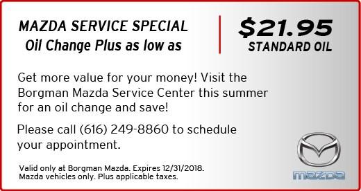 Current Ford & Mazda Service Specials   Grand Rapids, MI ...
