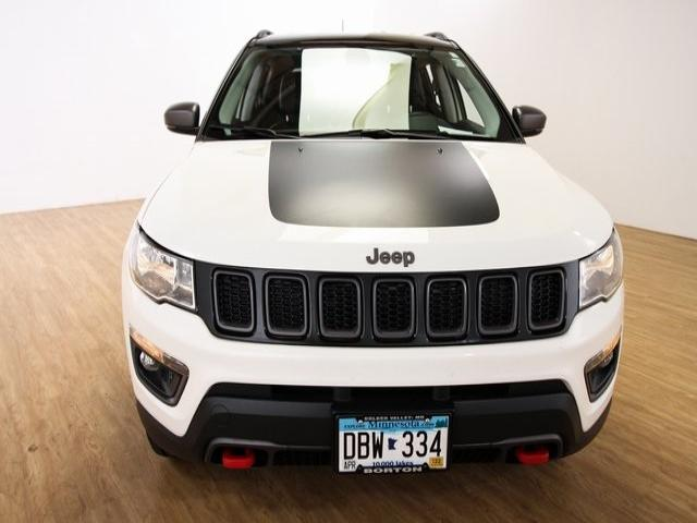 Used 2018 Jeep Compass Trailhawk with VIN 3C4NJDDB8JT174912 for sale in Golden Valley, Minnesota