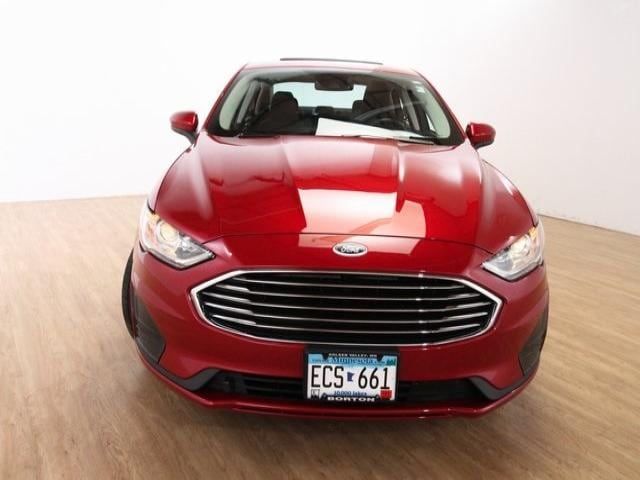 Used 2020 Ford Fusion SE with VIN 3FA6P0T96LR112442 for sale in Golden Valley, Minnesota