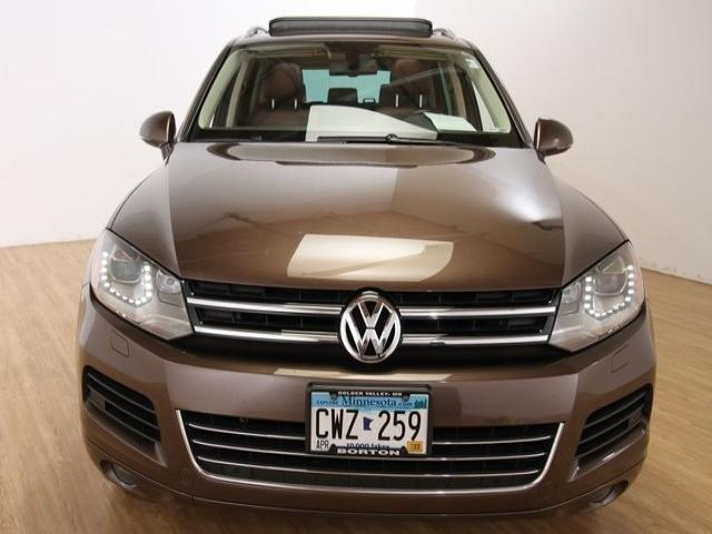 Used 2012 Volkswagen Touareg Executive with VIN WVGFK9BP4CD003513 for sale in Golden Valley, Minnesota