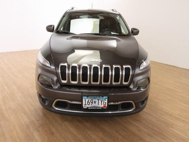 Used 2016 Jeep Cherokee Limited with VIN 1C4PJMDS1GW124395 for sale in Golden Valley, Minnesota