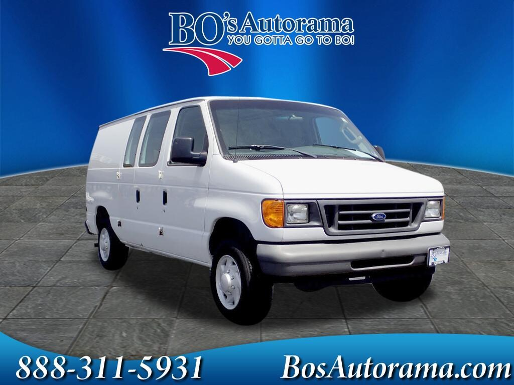 2007 Ford E-150 Commercial Cargo Van