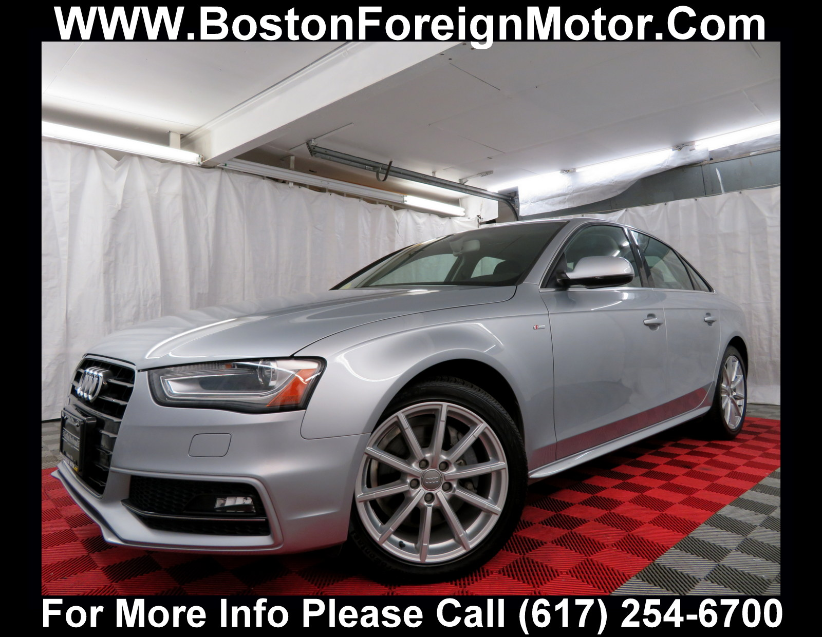 2016 Audi A4 2.0T Premium Navigation Sedan