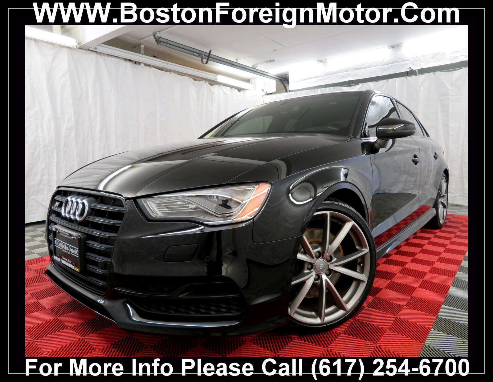 Used 2016 Audi S3 For Sale at Boston Foreign Motor | VIN