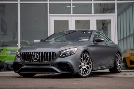 2019 Mercedes-Benz AMG S 63 4MATIC Coupe