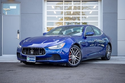 2017 Maserati Ghibli S Q4 Sedan