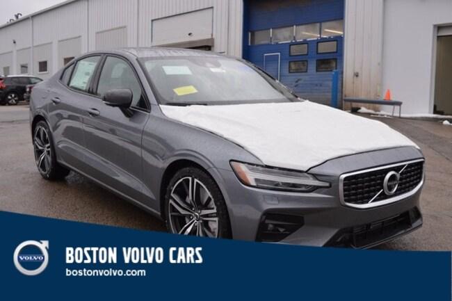 New 2019 Volvo S60 T6 R-Design Sedan Boston