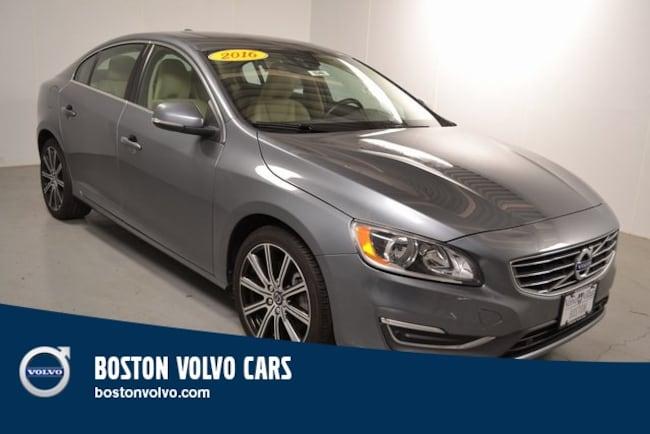 Used 2016 Volvo S60 Inscription T5 Sedan Boston