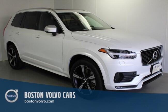 New 2019 Volvo XC90 T6 R-Design SUV Boston