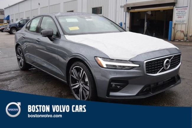 New 2019 Volvo S60 T6 R-Design Sedan Boston