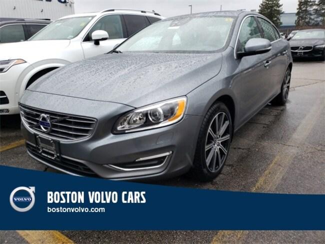 New 2018 Volvo S60 Inscription T5 Platinum Sedan Boston