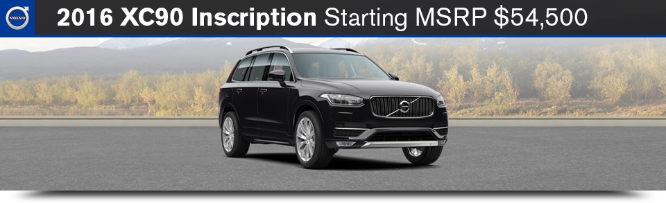 2016 XC90 Model Overview & Pricing | Volvo Cars of Danvers