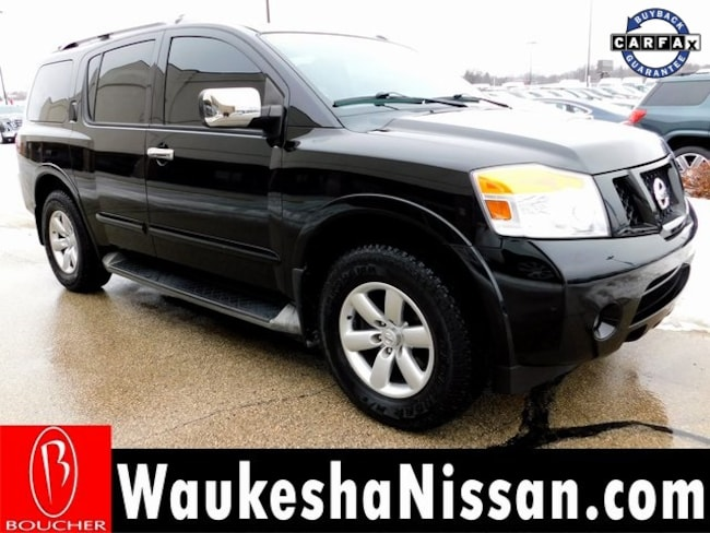 Used vehicles 2012 Nissan Armada SV SUV P6953A For Sale in Waukesha, WI near New Berlin