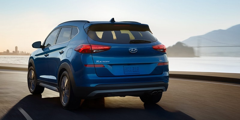 The 2020 Hyundai Tucson stacks up several attributes in Boulder CO
