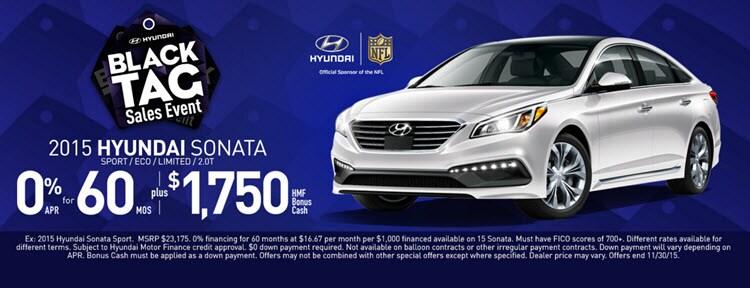 Hyundai Black Tag Sales Event Near Longmont Co