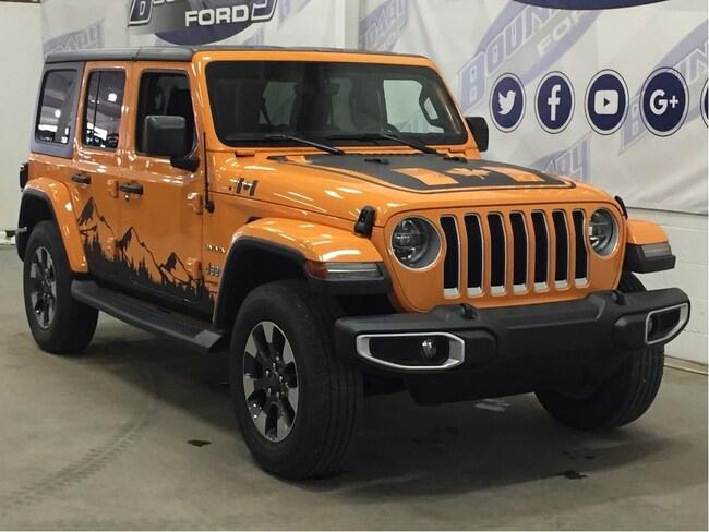 2018 Jeep Wrangler Unlimited Sahara SUV