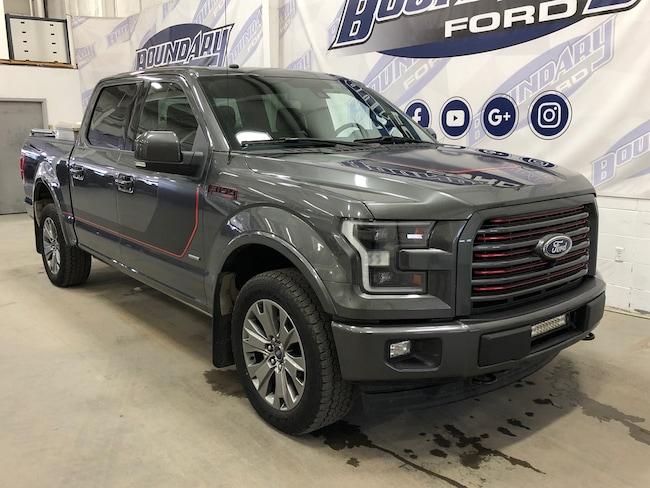 2017 Ford F-150 Lariat Truck SuperCrew Cab