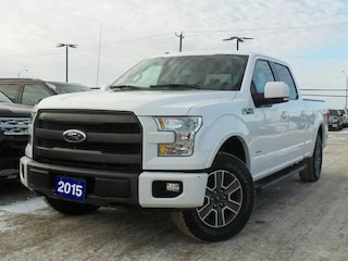 2015 Ford F-150 Lariat 3.5L V6 ECO Leather Navigation Truck SuperCrew Cab