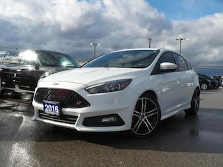 2016 Ford Focus ST 2.0L ECO Heated Seats Leather Navigation Hatchback