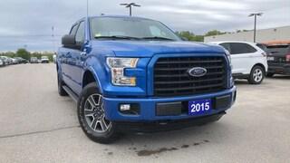 2015 Ford F-150 F150 Xlt 5.0l V8 Navigation Truck SuperCrew Cab
