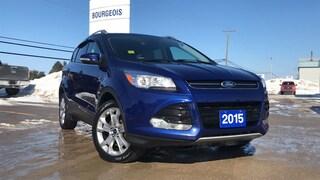 2015 Ford Escape Titanium 2.0L 4cyl Heated Seats Reverse Camera SUV