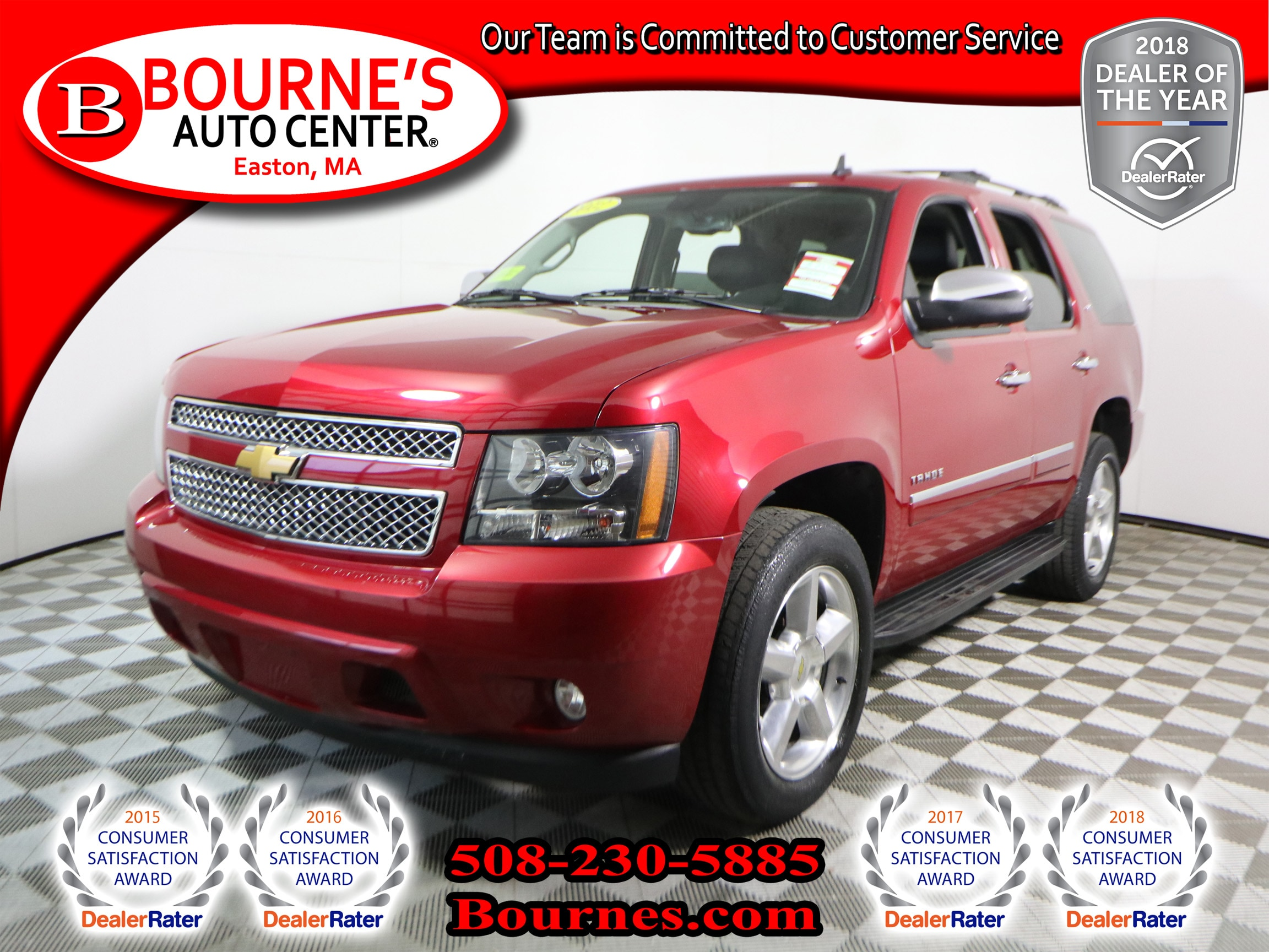 2012 Chevrolet Tahoe 4WD LTZ Navigation,Leather,Heated/Cooled Front Sea SUV