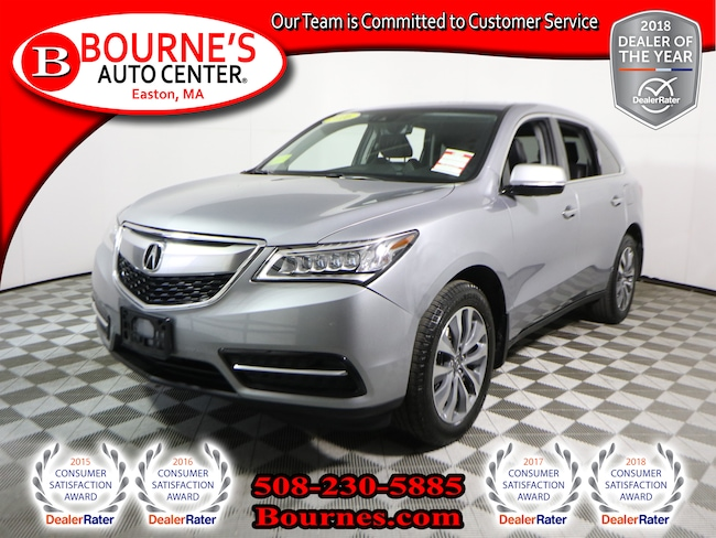 2016 Acura MDX SH-AWD Tech Pkg,Navigation,Leather,Sunroof,Heated Front Seats,Backup-Cam SUV
