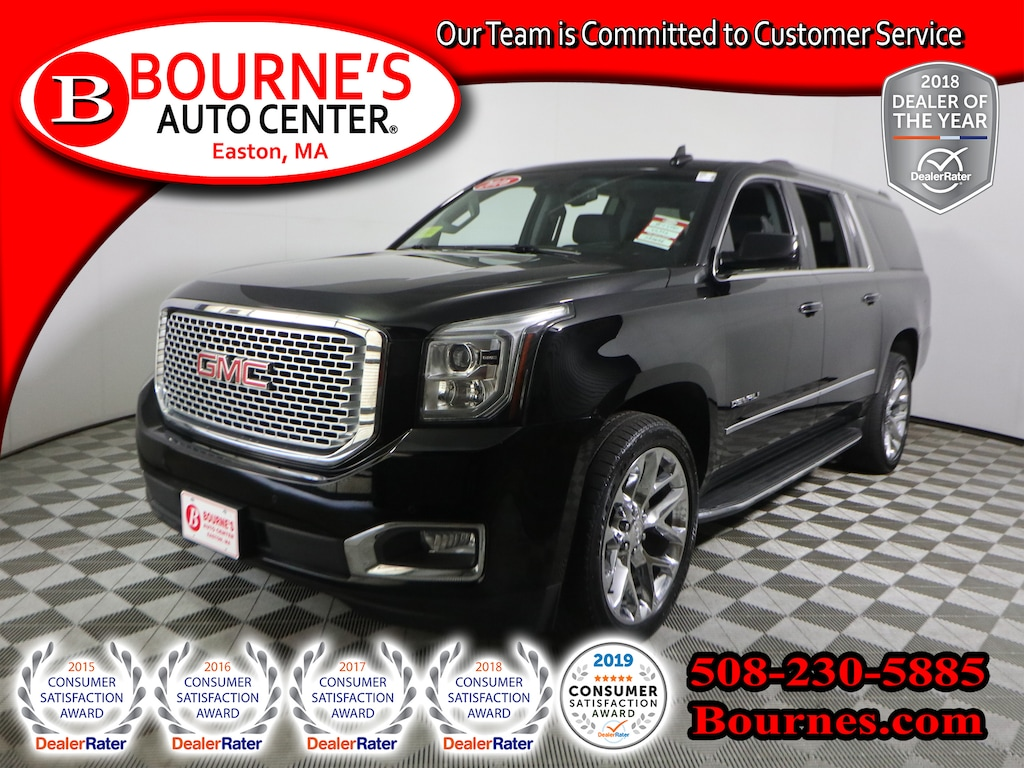 Gmc Dealers In Ma >> Used 2016 Gmc Yukon Xl For Sale At Bourne S Auto Center Vin