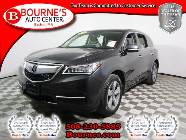 2016 Acura MDX SH-AWD w/ Leather,Heated Front Seats,Backup-Cam,Sunroof SUV