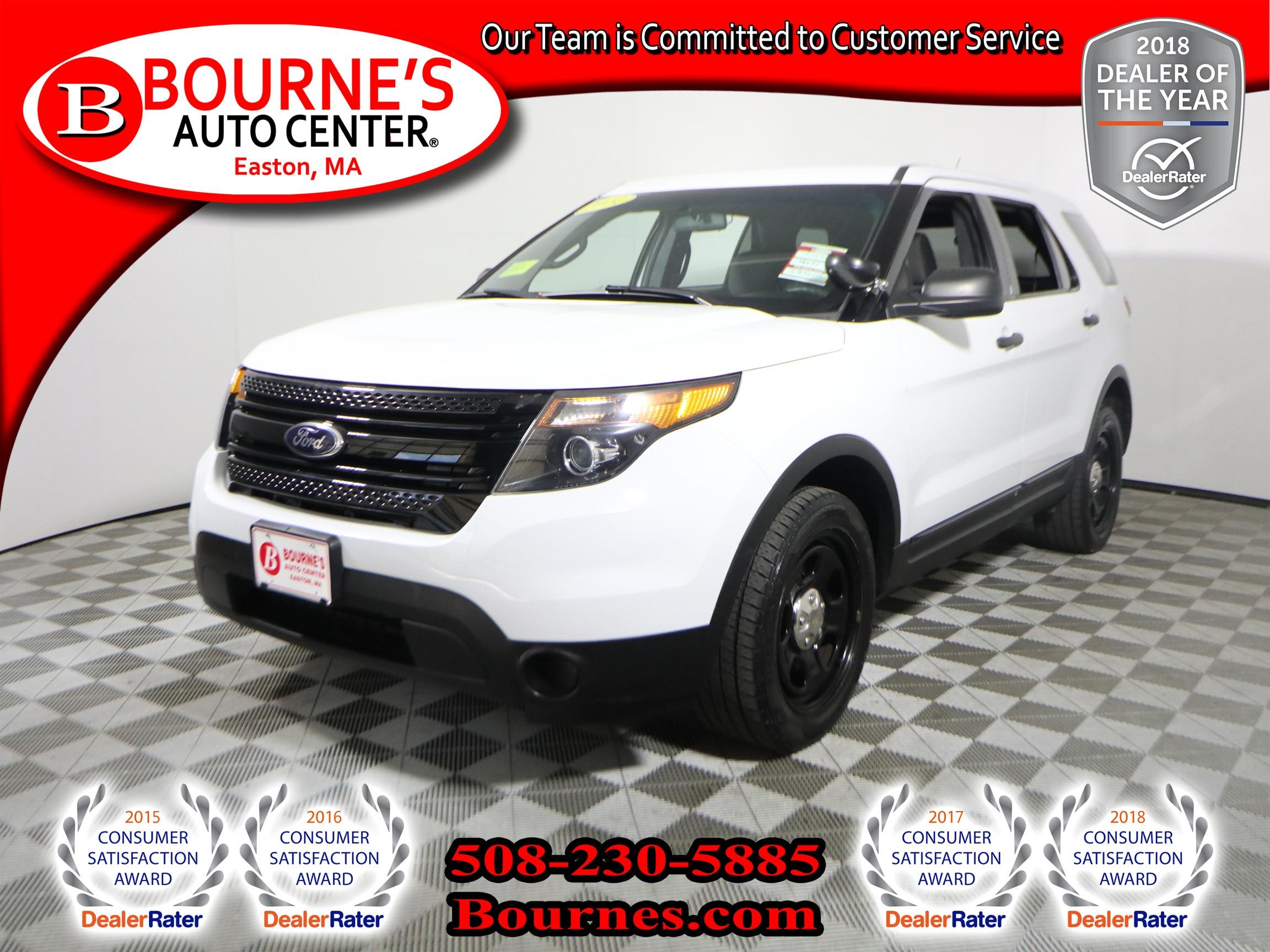 2014 Ford Utility Police Interceptor SUV