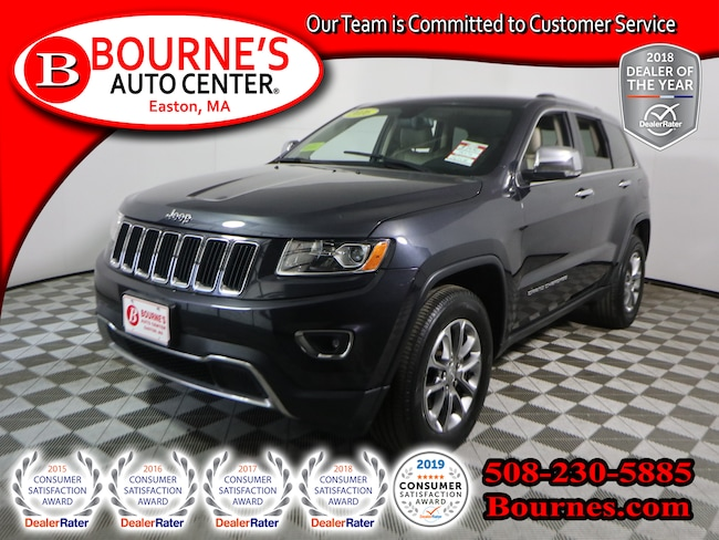 2016 Jeep Grand Cherokee 4WD Limited w/Heated Leather Seats,Backup-Cam SUV