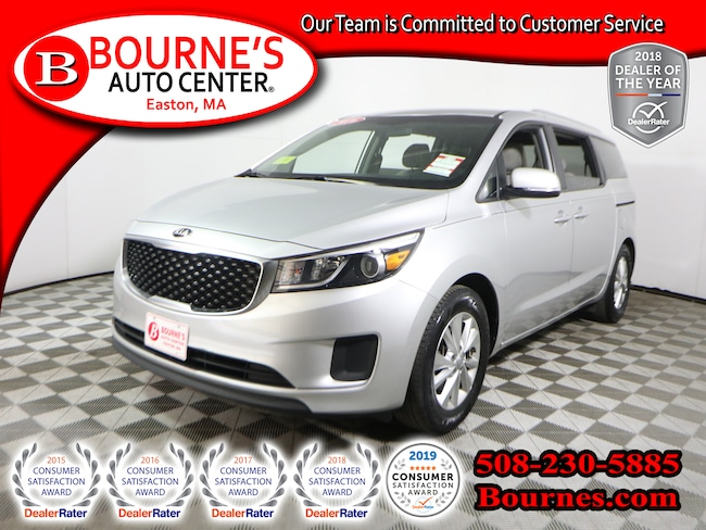 2016 Kia Sedona LX w/ Backup-Camera, And Heated Front Seats. Van