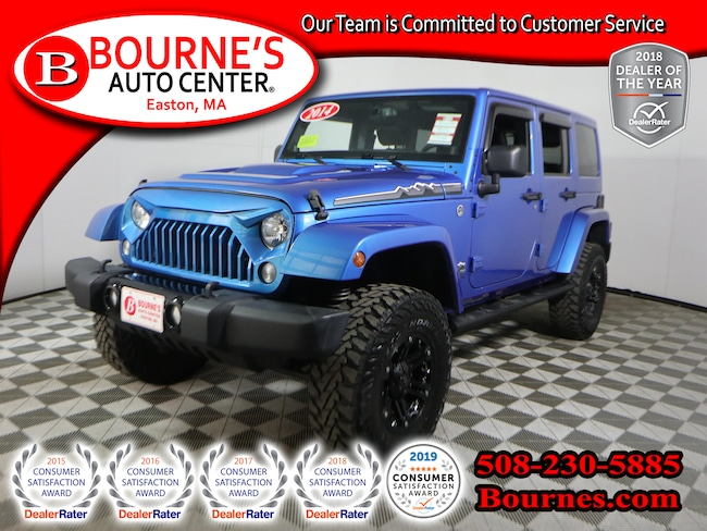 2014 Jeep Wrangler Unlimited 4WD Polar w/ Nav, Leather, And Heated Front Seats SUV